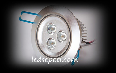 POWER 3 LEDLİ SPOT