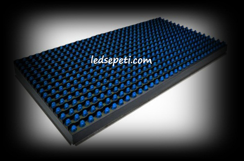 P10 LED PANEL MAVİ KAYAN YAZI